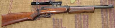 BENJAMIN SHERIDAN Type 397 PA (Pompa-Gerendel)