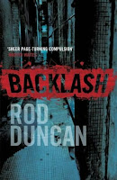 Backlash by Rod Duncan, published by Simon and Schuster UK
