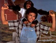 Michael Con su mascota