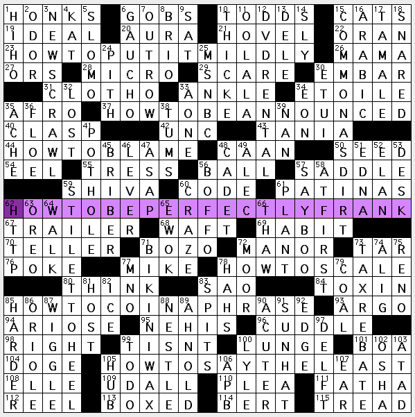 quick reminder if your newspaper gives you the daily la times crossword edited by rich norris but it doesnt offer this sunday puzzle you can get it