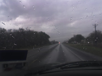 the view through my windshield at about 1:30 this afternoon