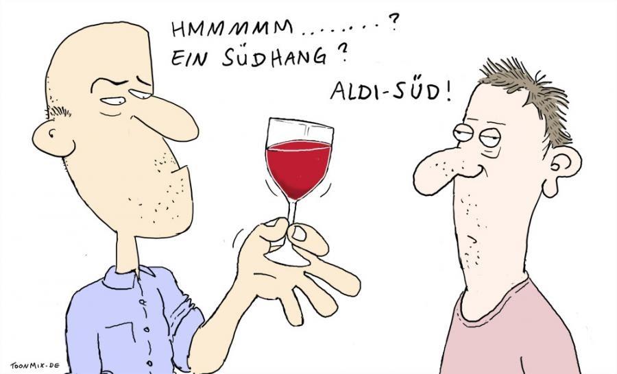 Weindeuter: Discountweine 3 + Rewirpower Weintest
