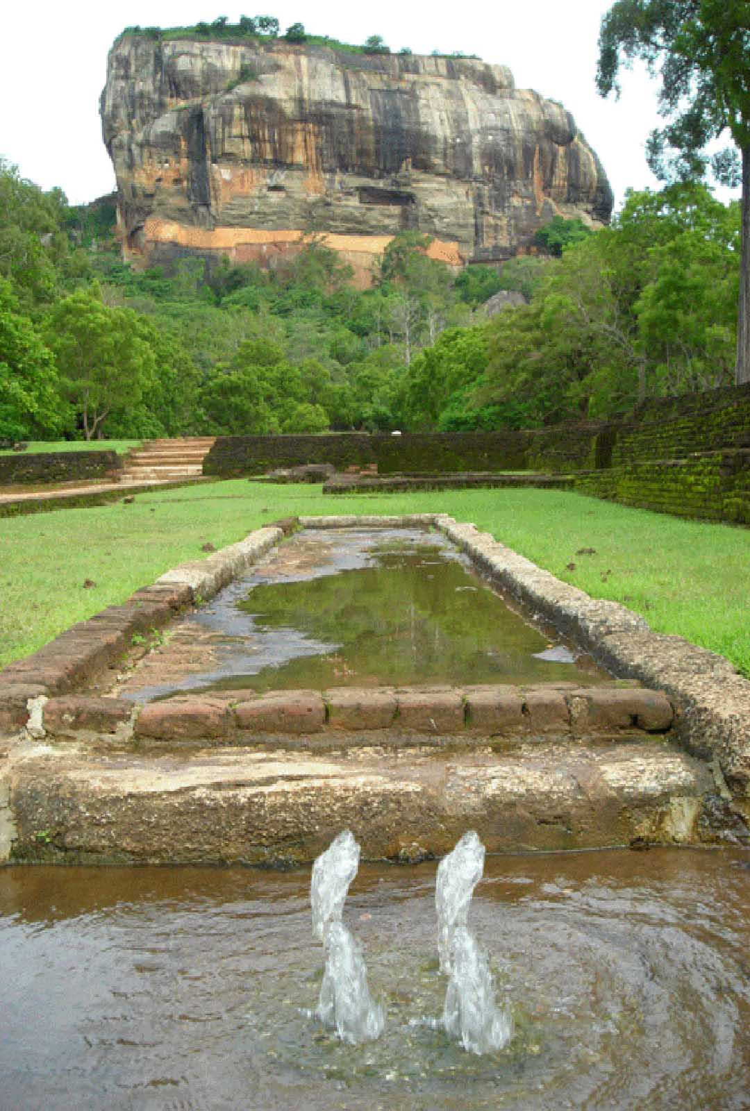 Sigiriya Terraced Gardens Garden Ftempo