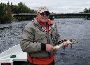 Norm dicks salmon fishing