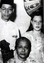 Nadra, Mansor Adabi and Cik Aminah