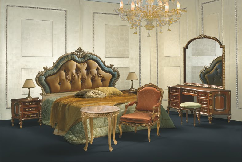 Italian Classic Furniture Direttorio Style Bedroom Furniture