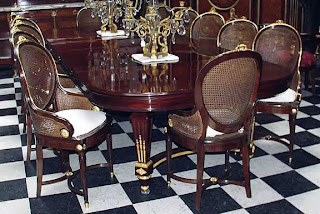 Louis Xiv Chairs In Living Room Furniture