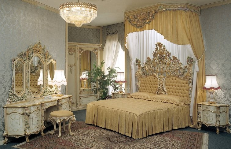 Set More Rustic Design Look For Your Classical Bedroom