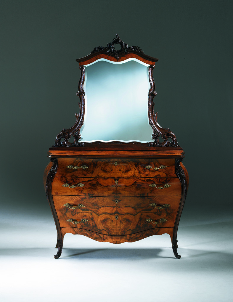 Antique italian classic furniture antique nightstand in for Italian furniture