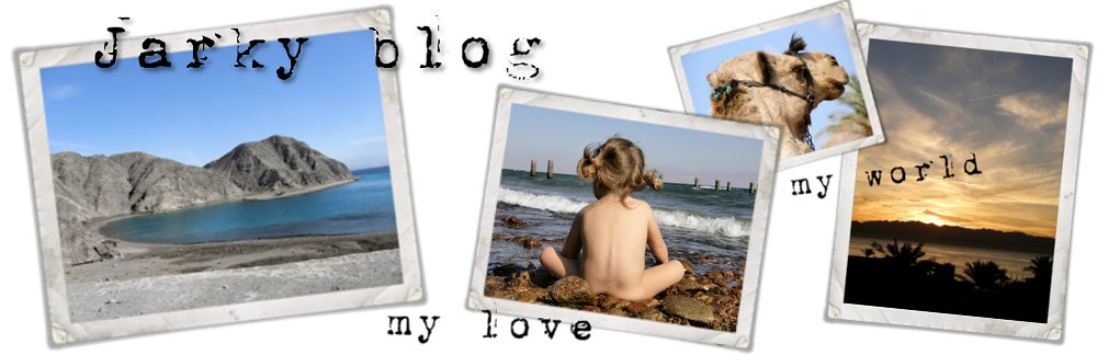 Jarky blog... každý den jeden okamžik...