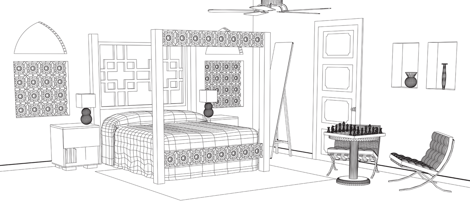Bedroom Perspective
