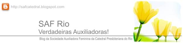 SAF Rio. Verdadeiras Auxiliadoras!
