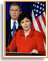 Linda Chavez- Bush Sec of Labor nominee
