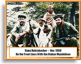 Rep Dana Rohrabacher and his Mujahideen Friends on Afghan Front Lines