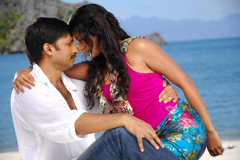 priyamani hot romance with gopichand in golimar