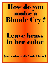 For Blonde only !