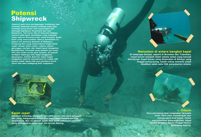 Berburu Shipwreck di Selayar