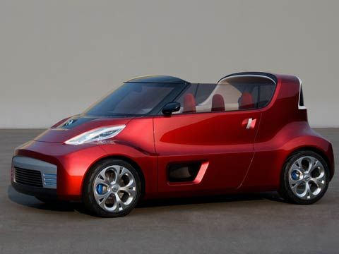 Auto Car | 2008 Nissan RD/BX Concept Car | The Nissan Round Box,