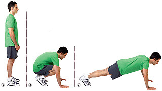 Exercise Burpee http://shahtraining.com/burpees-the-most-intense-bodyweight-exercise/