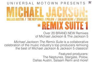 MICHAEL JACKSON -THE REMIX SUITE