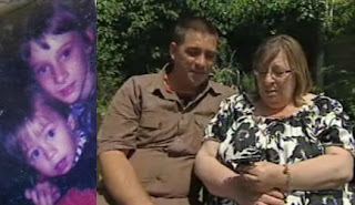 Avril e o filho Gavin Antes e 27 anos depois