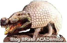 Ilustração tenta mostrar como poderia se assemelhar um crocodilo-tatu