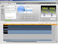 Vídeo 3D sendo preparado no editor