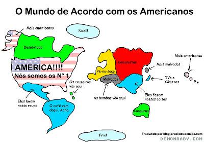 O Mundo de Acordo com os Americanos