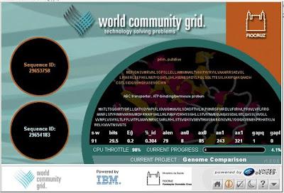 Comparação genômica. Projeto da Fiocruz que usou o World Community Grid