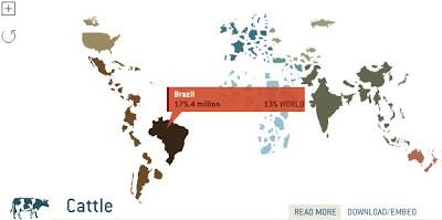 Show World - Mapas animados com dados estatísticos de geografia