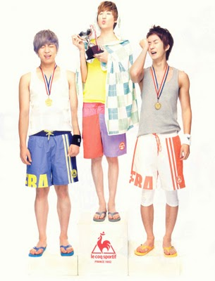 "Precious: [SCANS] U-Kiss - Nylon Magazine ""Le Coq Sportif"" July issue"