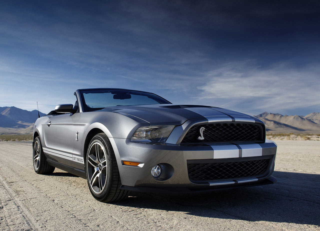 The 2011 Shelby GT500 is a