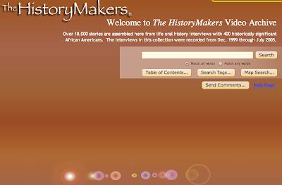 Screenshot of search screen