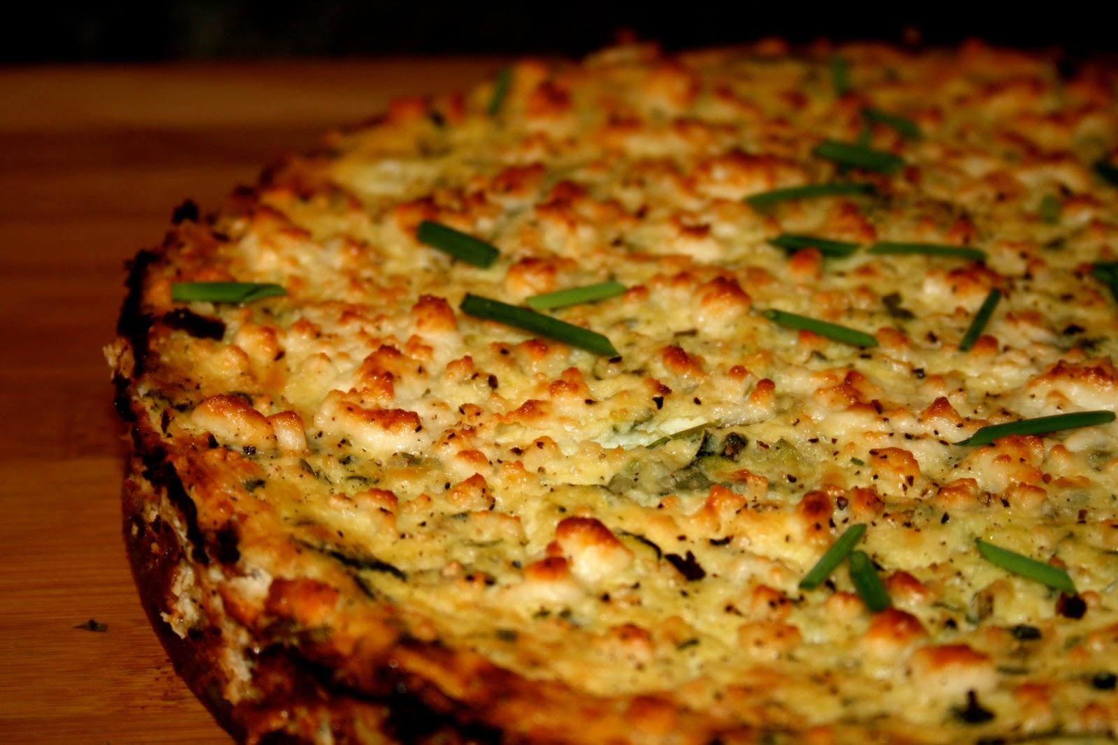Zucchini Ricotta Cheesecake Recipe — Dishmaps