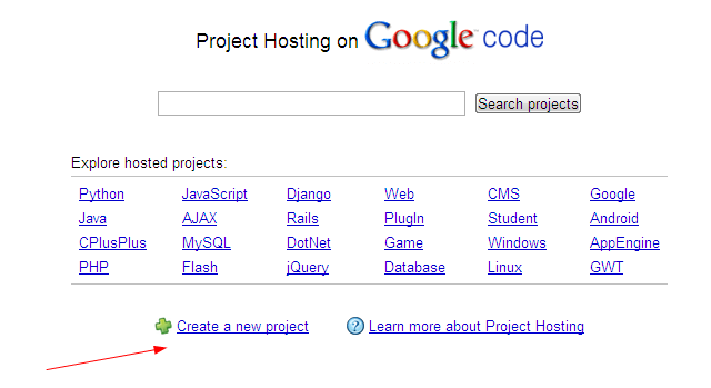 google code project Google code (aka project hosting) was a software repository owned by google  it hosted only open source software paired with an open.