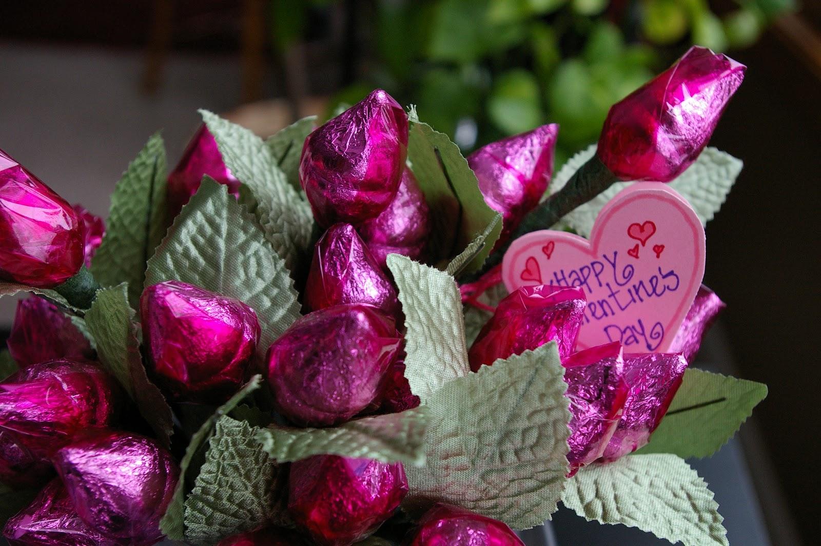 Fathers Day 2012 Magazine Hershey Kiss Rose Valentines