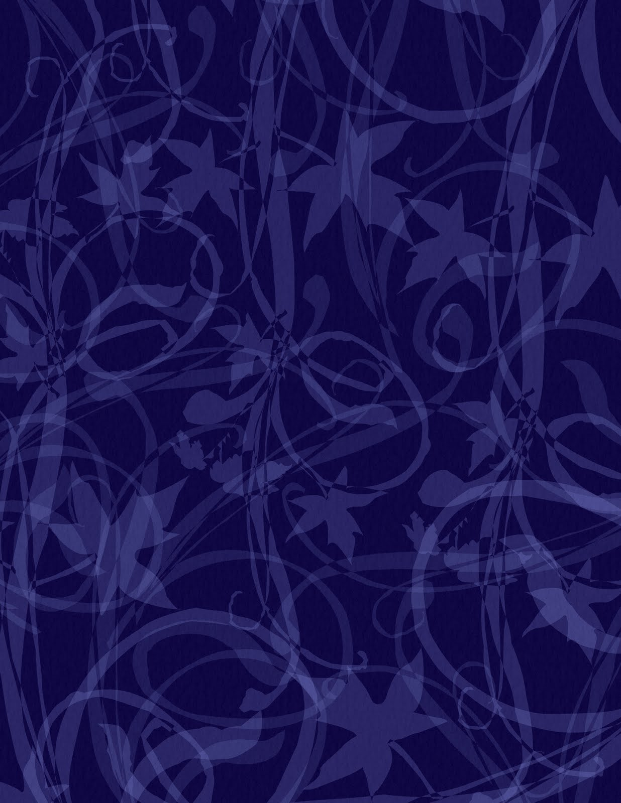 navy blue vines scrapbook paper