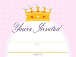 Birthday Party Invitations Print At Home