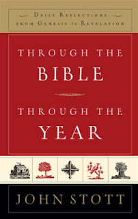 Through the Bible through the year Stott