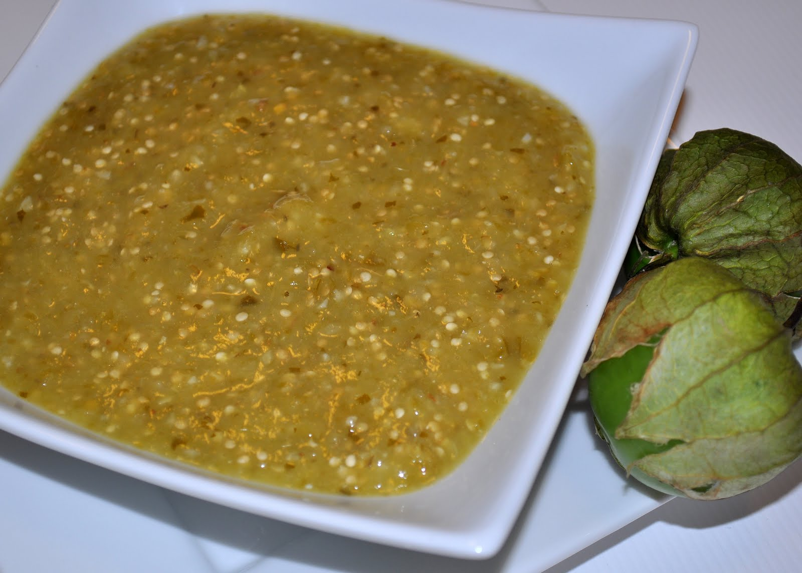... Jan's Kitchen?: Salsa Verde Recipe {Tomatillo Salsa or Green Salsa