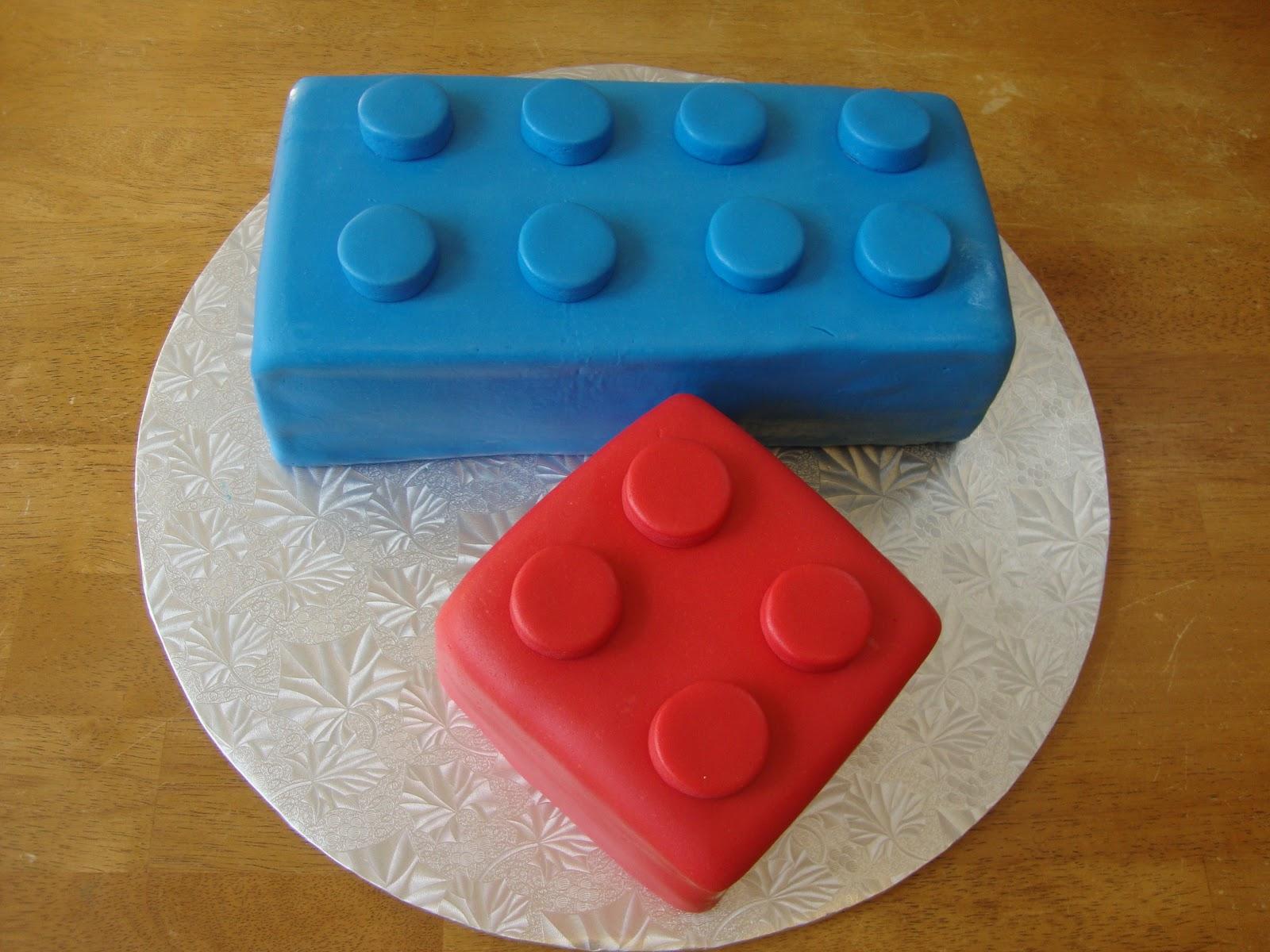 Whimsy Girls Cakes: Lego Cake & Cupcakes