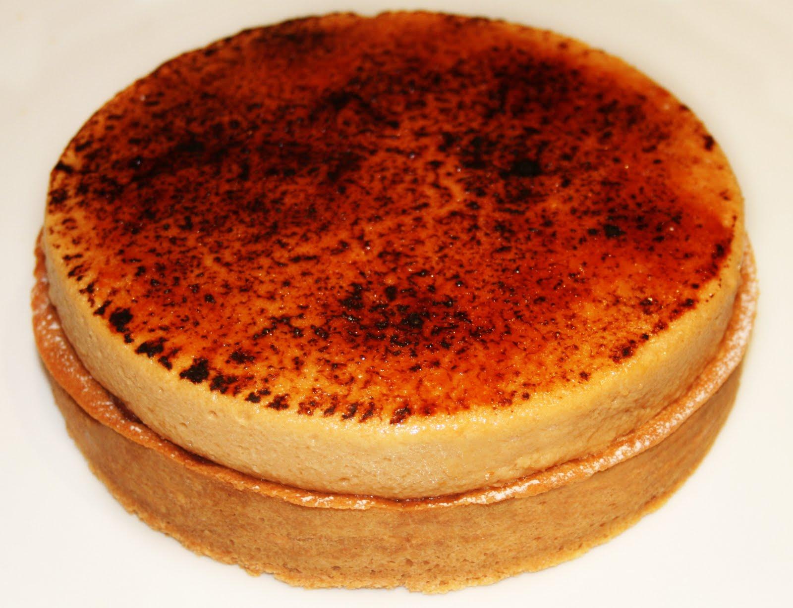 La cuisine de bernard tarte poire chocolat cr me for Cuisine bernard