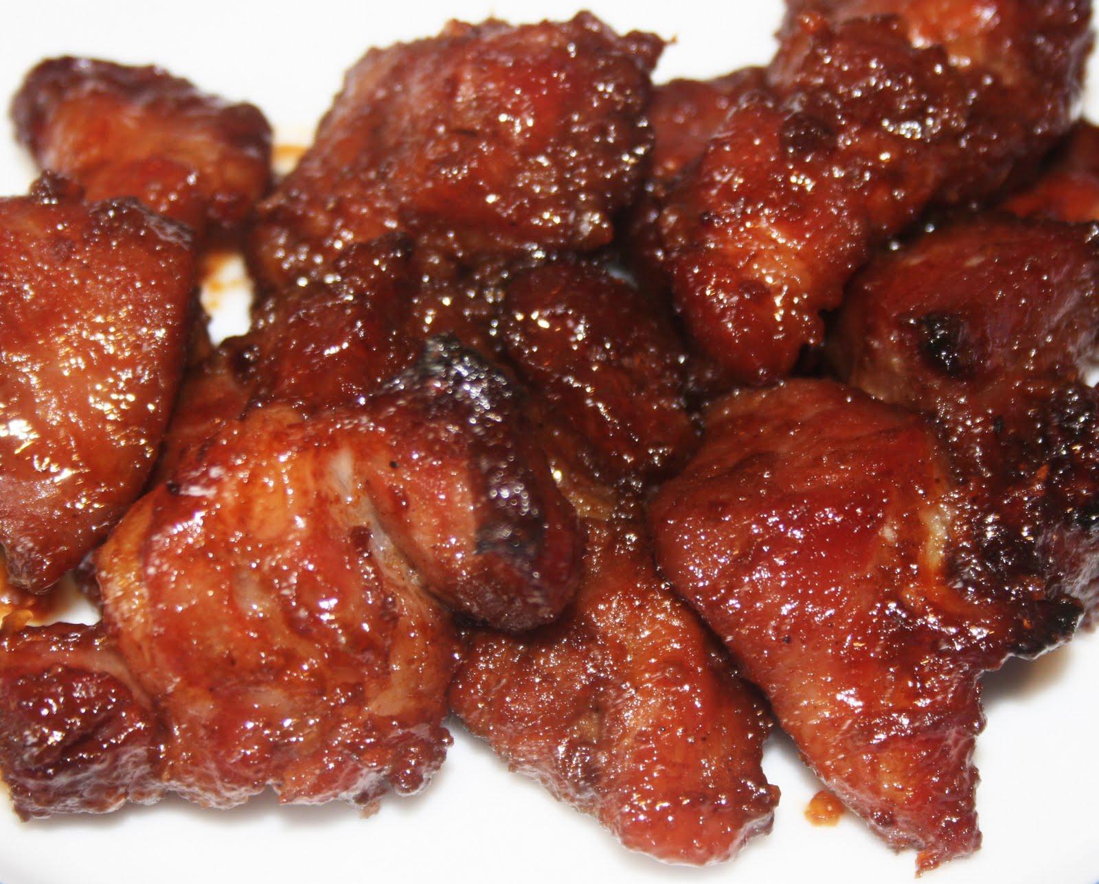 La cuisine de bernard porc rouge char siu for Viande cuisinee
