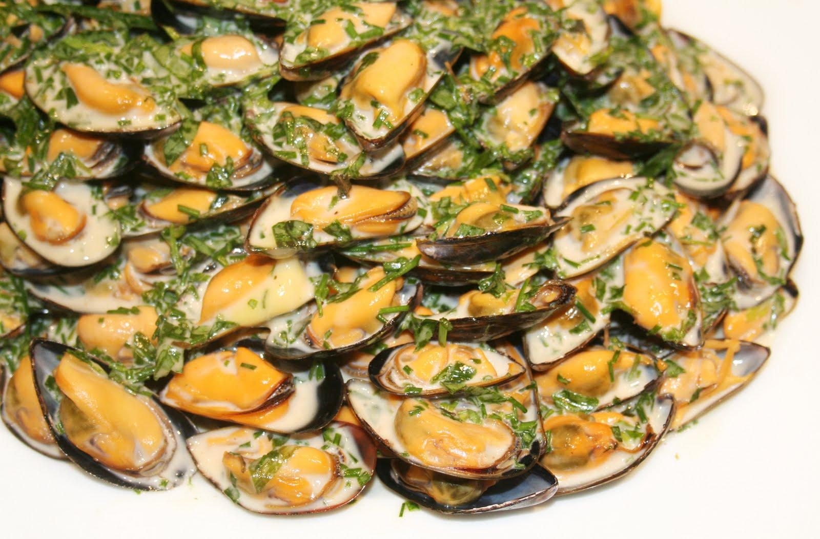 la cuisine de bernard : moules froides à l'estragon