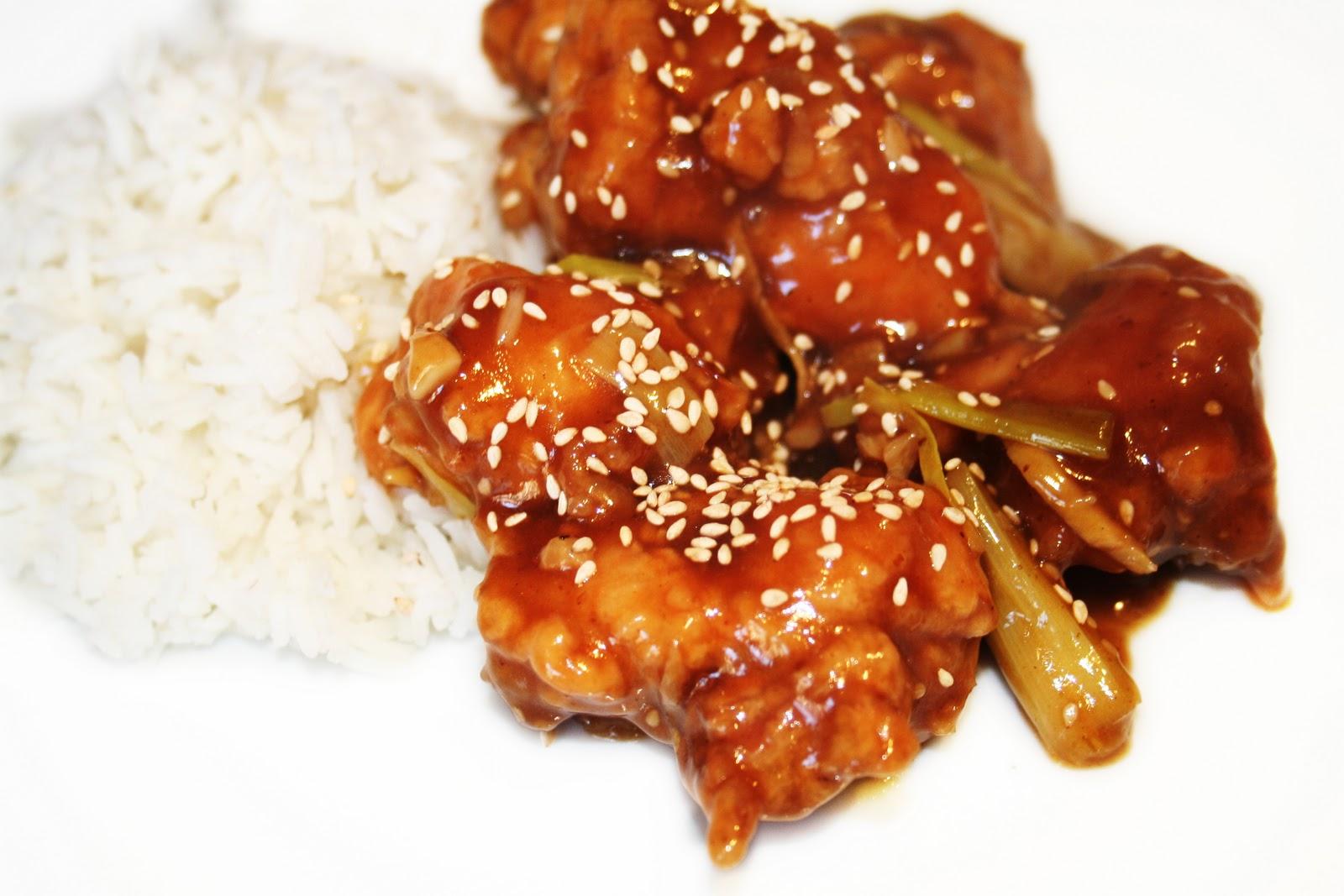 La cuisine de bernard poulet du g n ral tso - Comment cuisiner les blancs de poulet ...