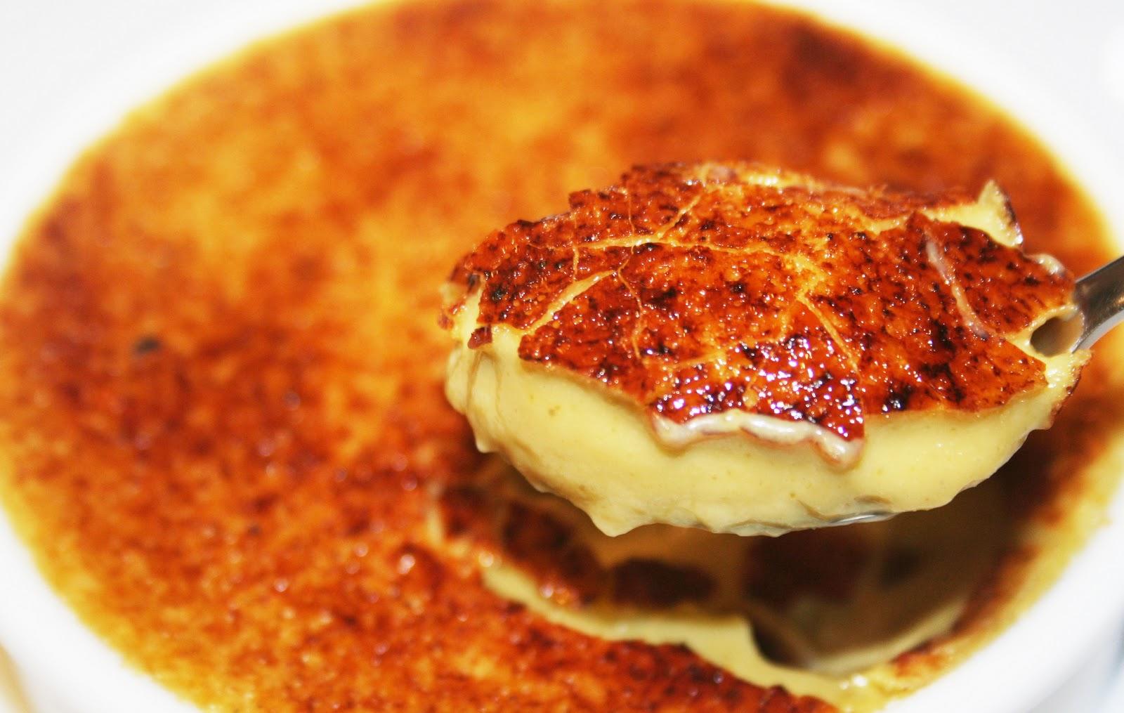 La Cuisine de Bernard : Crème Brûlée Pistache