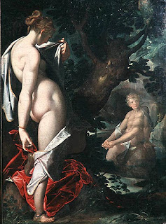 Hermaphroditus and Salmacis