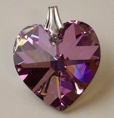 Crystal Vitrail Light Swarovski Heart