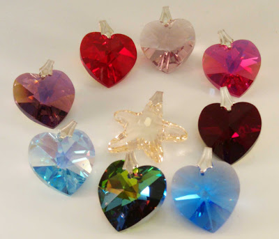 New Swarovski crystal pendants