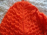 Swallowtail shawl WIP